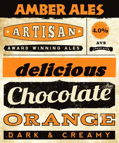 Chocolate Orange Stout